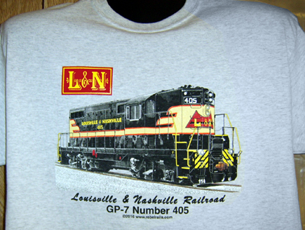T-Shirt L&N GP7 No. 405