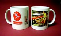 Coffee Mug Milw Skydome w/cowgirl on horse