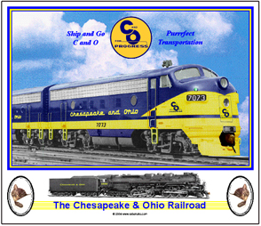 Mouse Pad C&O F-Unit Diesel