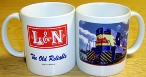 Coffee Mug L&N GP7 Diesel
