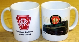 Coffee Mug PRR GG1 in Green