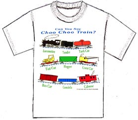 T-shirt Can You Say Choo Choo