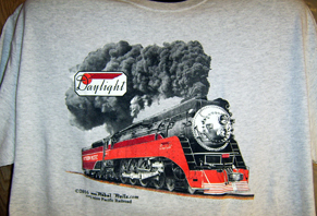 T-Shirt SP Daylight Steam Locomotive