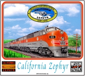 Mouse Pad WP F3 California Zephyr