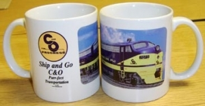 Coffee Mug C&O F9 Diesel