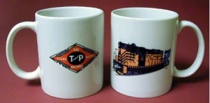 Coffee Mug Texas & Pacific