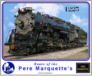 Mouse Pad Pere Marquette 1225