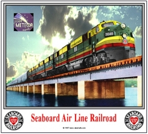 Mouse Pad Seaboard Bridge Scene