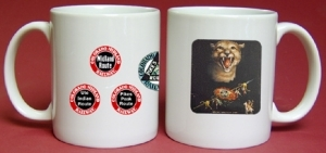 Coffee Mug Colo Midland Mtn Lion