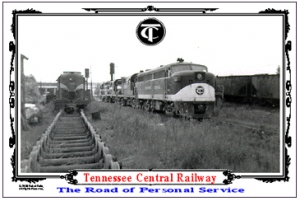 Tin Sign TC Ready Track in Nashville Yards