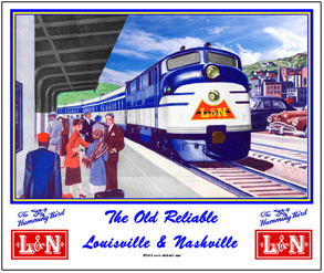 Mouse Pad L&N at Station