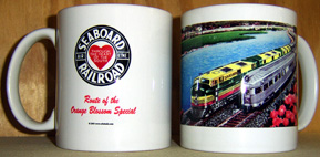 Coffee Mug Silver Meteor Passing