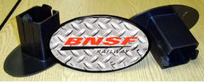 Hitch Cover BNSF Logo