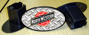 Hitch Cover C&NW Logo