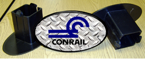 Hitch Cover CONRAIL Logo