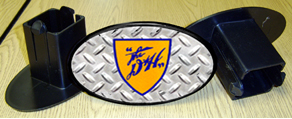 Hitch Cover D&H Logo