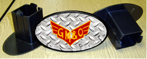 Hitch Cover GM&O Logo