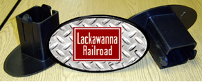 Hitch Cover Lackawanna Logo