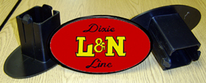 Hitch Cover L&N Dixie Logo
