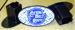 Hitch Cover Cotton Belt Logo