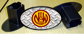 Hitch Cover N&W Logo