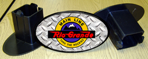 Hitch Cover Rio Grande Logo