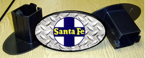 Hitch Cover Santa Fe Logo