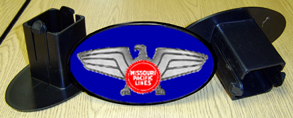 Hitch Cover MoPac Eagle