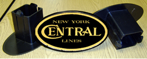 Hitch Cover NYC Black Logo