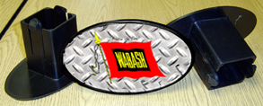 Hitch Cover Wabash Logo