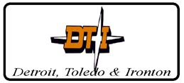 License Plate DT&I Logo