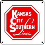 KCS Logo 6x6 Tin Sign