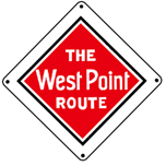 West Point Logo 6x6 Tin Sign