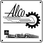 ALCO Logo 6x6 Tin Sign