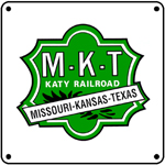 Katy Green Logo 6x6 Tin Sign