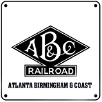 AB&C Logo 6x6 Tin Sign