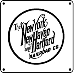 NH Round Logo 6x6 Tin Sign