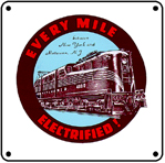 PRR GG1 Logo 6x6 Tin Sign