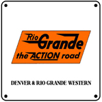 Rio Action Line Logo 6x6 Tin Sign