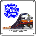 Cotton Belt FT Diesel 6x6 Tin Sign