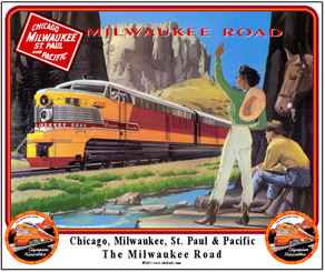 Mouse Pad Milw Erie Built Out West