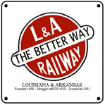 L&A Better Way 6x6 Tin Sign