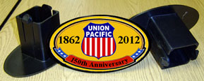 Hitch Cover Union Pacific 150th