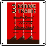 T&P Trains 6x6 Tin Sign