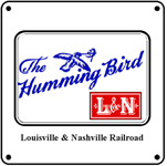 Humming Bird Logo 6x6 Tin Sign