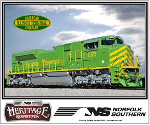 Mouse Pad ILL Terminal Heritage Diesel