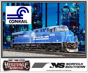Mouse Pad Conrail Heritage Diesel