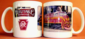Coffee Mug PRR NS Heritage