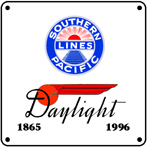 SP Daylight Logo 6x6 Tin Sign