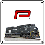 Penn Central Heritage 6x6 Tin Sign